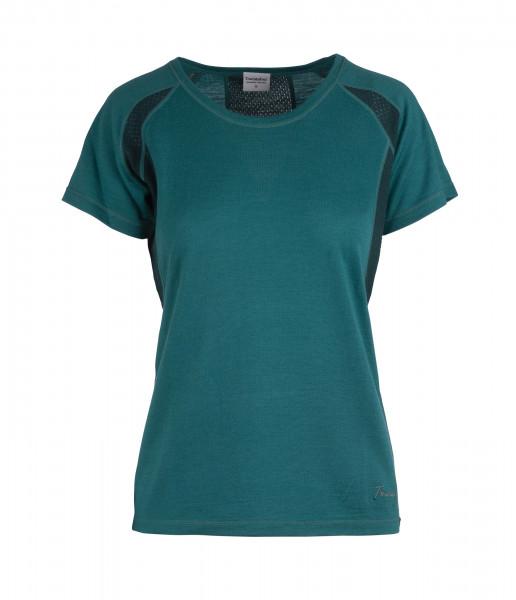 Damen T-Shirt Flam Lightwool SS