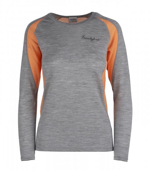Damen-Shirt Flam Lightwool LS