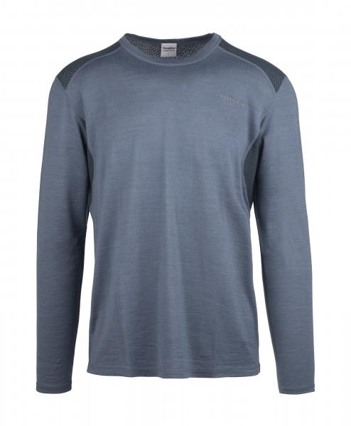 Herren-Shirt Flam Lightwool LS